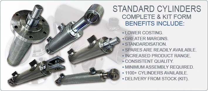 3 STANDARD CYLINDERS