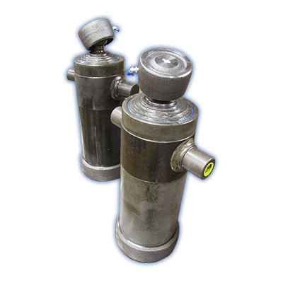 Hydraulic tipping cylinders