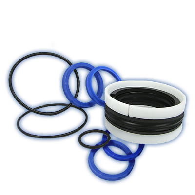 Complete seal kits for cushioning components