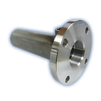 40mm - 100mm Flanged tubes for hydraulic cylinder