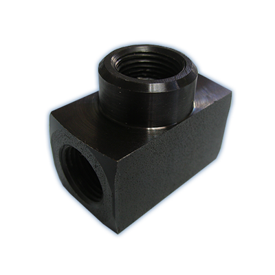 High pressure hydraulic T piece fittings