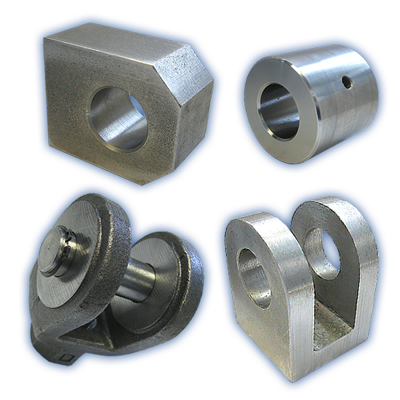 Hydraulic cylinder mountings
