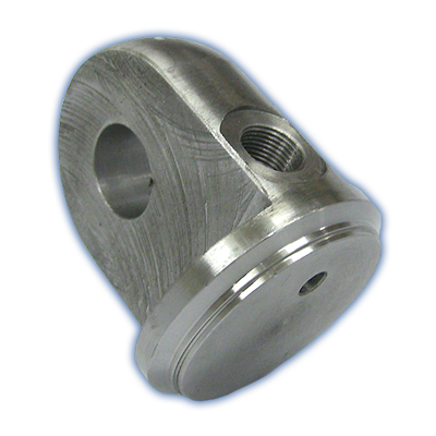 40mm - 70mm End plugs with male clevis & inlet port
