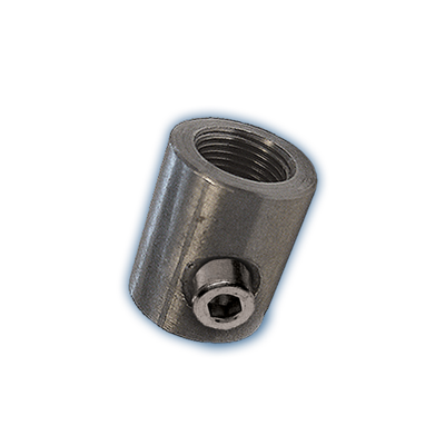 BSP Female oil inlet with bleed screw