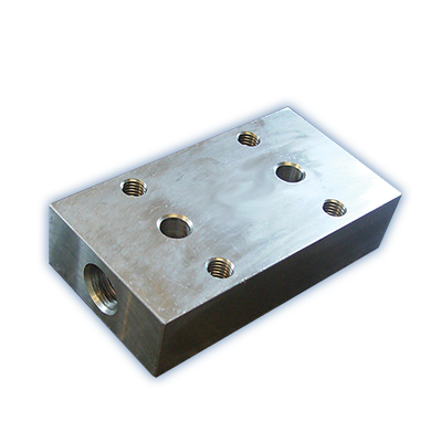 SUB PLATE FOR OVERCENTRE VALVE (FACE MOUNTED)