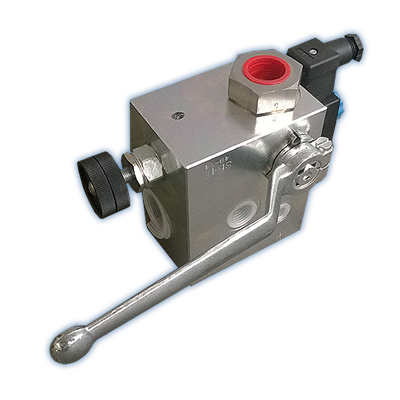 SB - *FOX* ACCUMULATOR SAFETY BLOCK VALVE