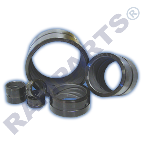 Heavy duty hardened steel bush insert