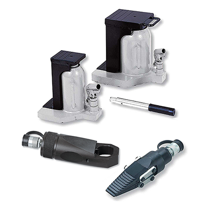 Hydraulic toe jacks | Spreaders