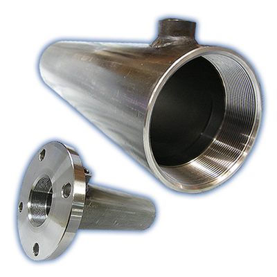 Machined hydraulic cylinder tube